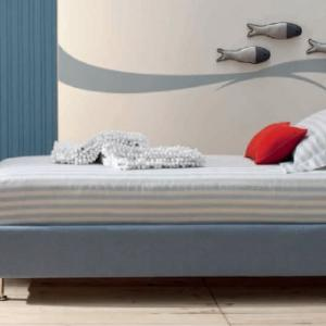 LETTO PIAZZA 1/2 MOD. BENNY 138X211 H22
