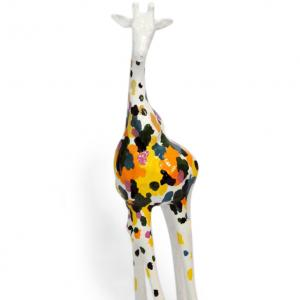 GIRAFFA DECORATIVA IN POLIRESINA